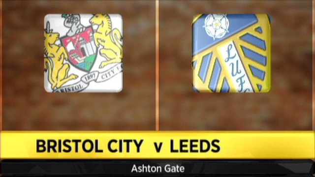 Bristol City 0 - 2 Leeds