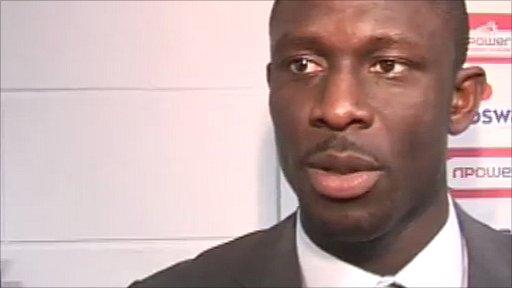 Cardiff midfielder Seyi Olofinjana