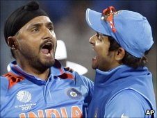 Harbhajan Singh and Piyush Chawla