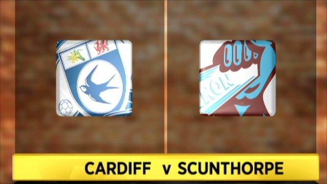 Cardiff 1- 0 Scunthorpe