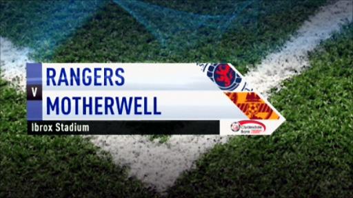 Rangers v Motherwell