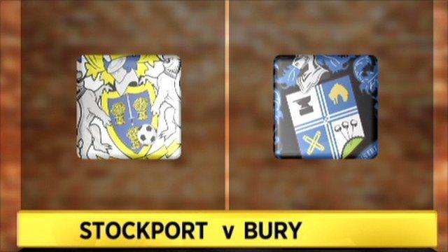 Stockport 2-1 Bury