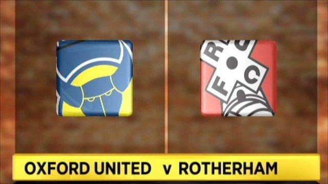 Oxford Utd 2-1 Rotherham