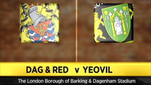 Dag & Red 2 - 1 Yeovil