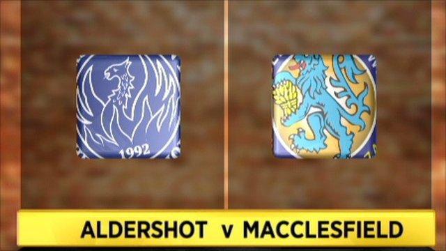 Aldershot 0-0 Macclesfield