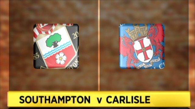 Southampton 1-0 Carlisle