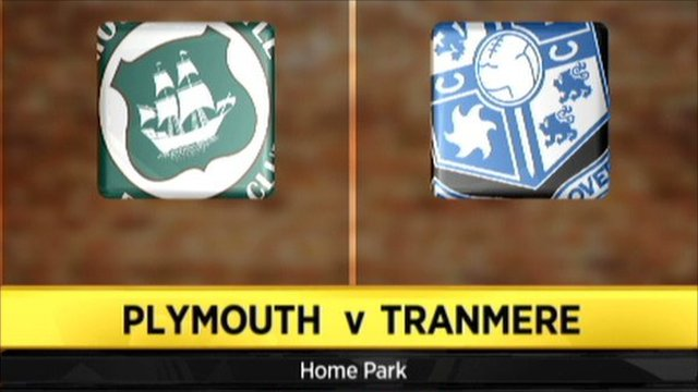 Plymouth 1 - 3 Tranmere