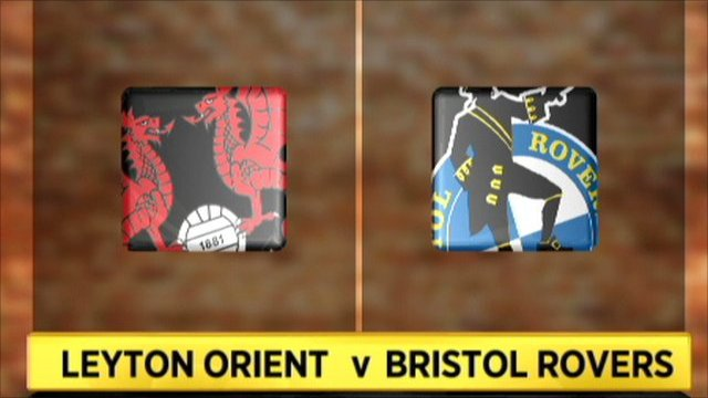 Leyton Orient v Bristol Rovers