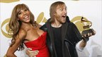 David Guetta and wife Cathy