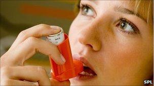 51246784 c002838 asthma treatment woman spl - Health : Mild Asthma be not be treated daily.