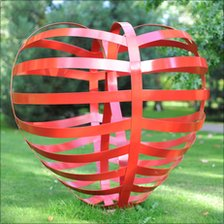 Stranded Heart sculpture