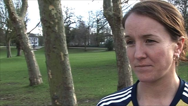 GB Women's footballer Casey Stoney