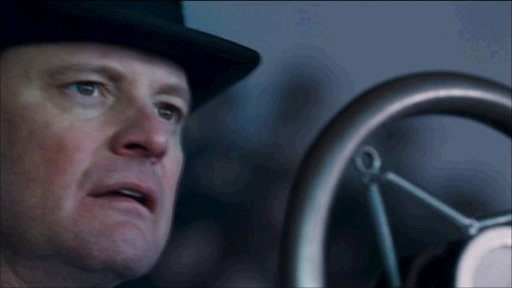 Colin Firth in the movie King's Speech