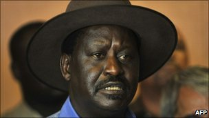 Raila Odinga (file photo)