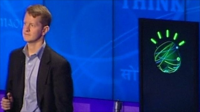 Ken Jennings versus Watson the supercomputer