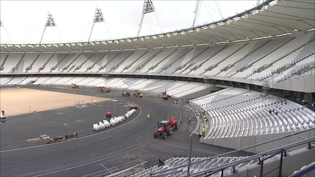 London&#039;s 2012 Olympic stadium