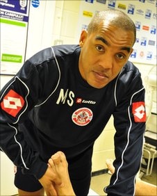 Crawley Town physio Mark Stein