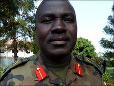 Brigadier General Charles Otema