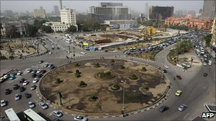 Tahrir Square 15 Feb 2011