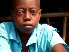 Boy living in fear of the LRA
