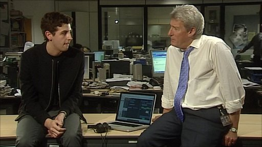 Jamie Smith and Jeremy Paxman