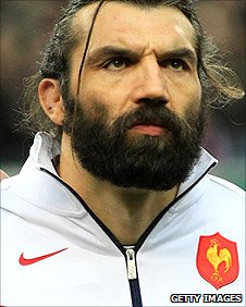France forward Sebastien Chabal