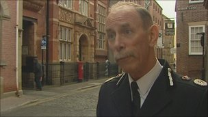 Tim Hollis, Chief Constable of Humberside Police