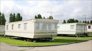 static caravan