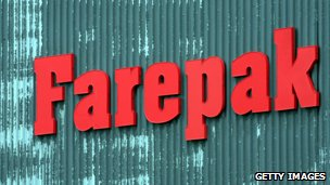 Farepak sign 