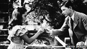 Elizabeth Taylor and Roddy McDowall In Lassie Come Home