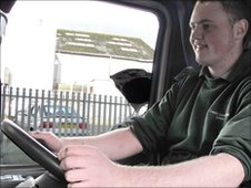 Harry Hoult - HGV driver