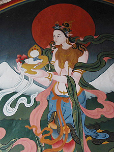 Bhutanese wallpainting