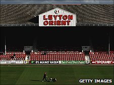 Leyton Orient's stadium 