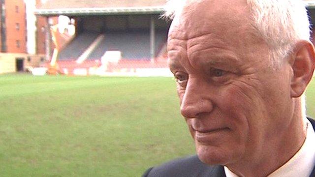 Leyton Orient chairman Barry Hearn