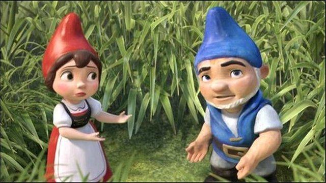 Still from Gnomeo & Juliet movie