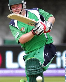 Paul Stirling is set to make his World Cup debut against Bangladesh