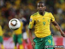 Bafana Bafana striker Katlego Mphela