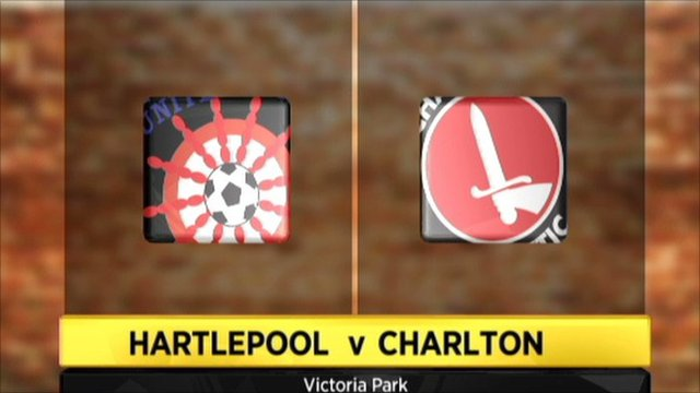 Hartlepool 2-1 Charlton