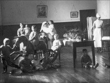 The nursery at Morda workhouse