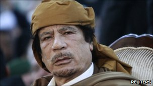 Muammar Gaddafi in Tripoli - 13 February 2011
