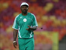 Flying Eagles coach John Obuh