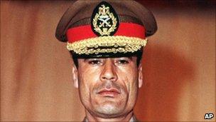 Muammar Gaddafi in 1970
