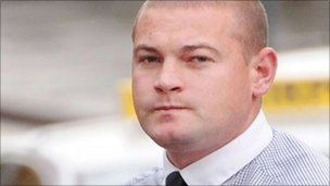 Ryan Leslie was found guilty of murder and causing grievous bodily harm