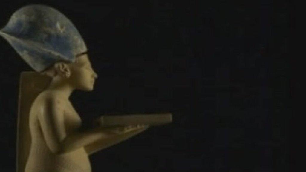 Missing statue