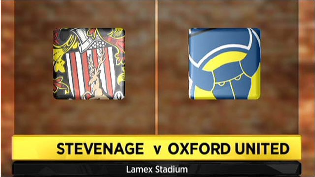 Stevenage 0-0 Oxford