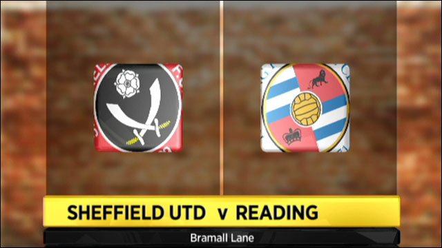Sheffield United v Reading