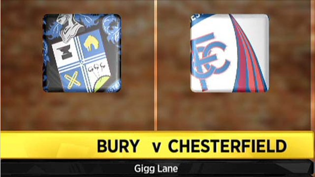Bury 1-1 Chesterfield