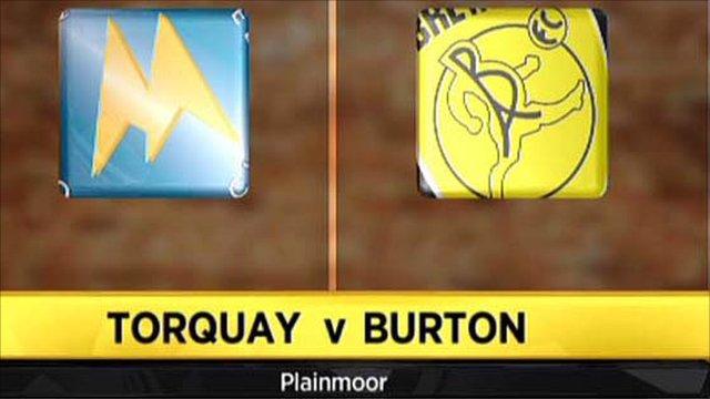 Torquay 1-0 Burton