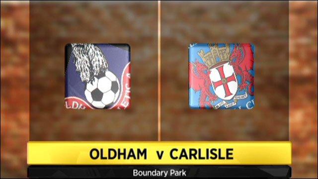 Oldham v Carlisle