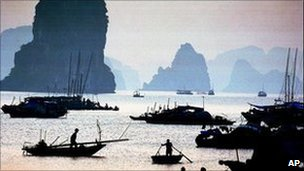 Ha Long bay in northern Quang Ninh province